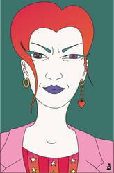 She is angry!! by SlobodanMilutinovic