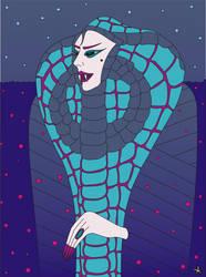 Queen Cobra by SlobodanMilutinovic