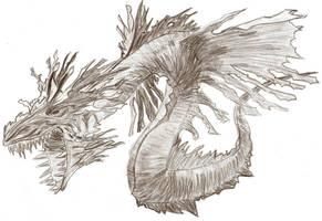 Sea monster by VVolfi