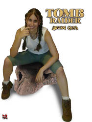 Young Lara Cosplay by ArantxaCosplayer