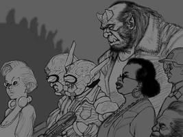 Shadowrun - Street Scene by J-M-D