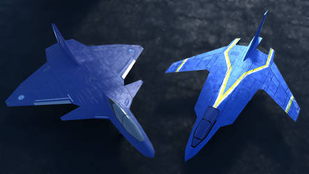Carrier Planes by J-M-D