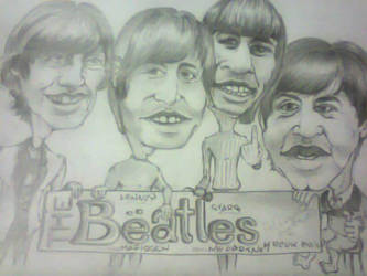 the BEATLES by ActLikeAKid