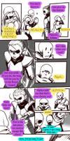 Failed Genocide! Undertale Gauntlet Throne Pt 4 by KuraiDraws