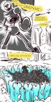 Failed Genocide! Undertale Gauntlet Throne Pt 7 by KuraiDraws