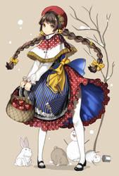 Strawberry dress by kgrnet