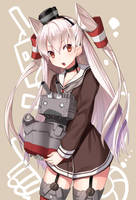 amatsukaze by kgrnet