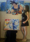 Me and my DragonBall art by turanneth