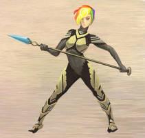 Solar-Gunzosha-Commando by flurrys-art