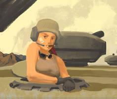 Bolo-tank-girl by flurrys-art