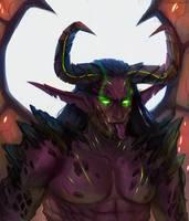 Wild demon hunter by AntheiaVaulor