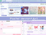 Pastel deviantArt theme 3.0 (DOWN) by kokotea