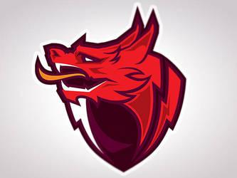 Dragon Mascot by MisterChek