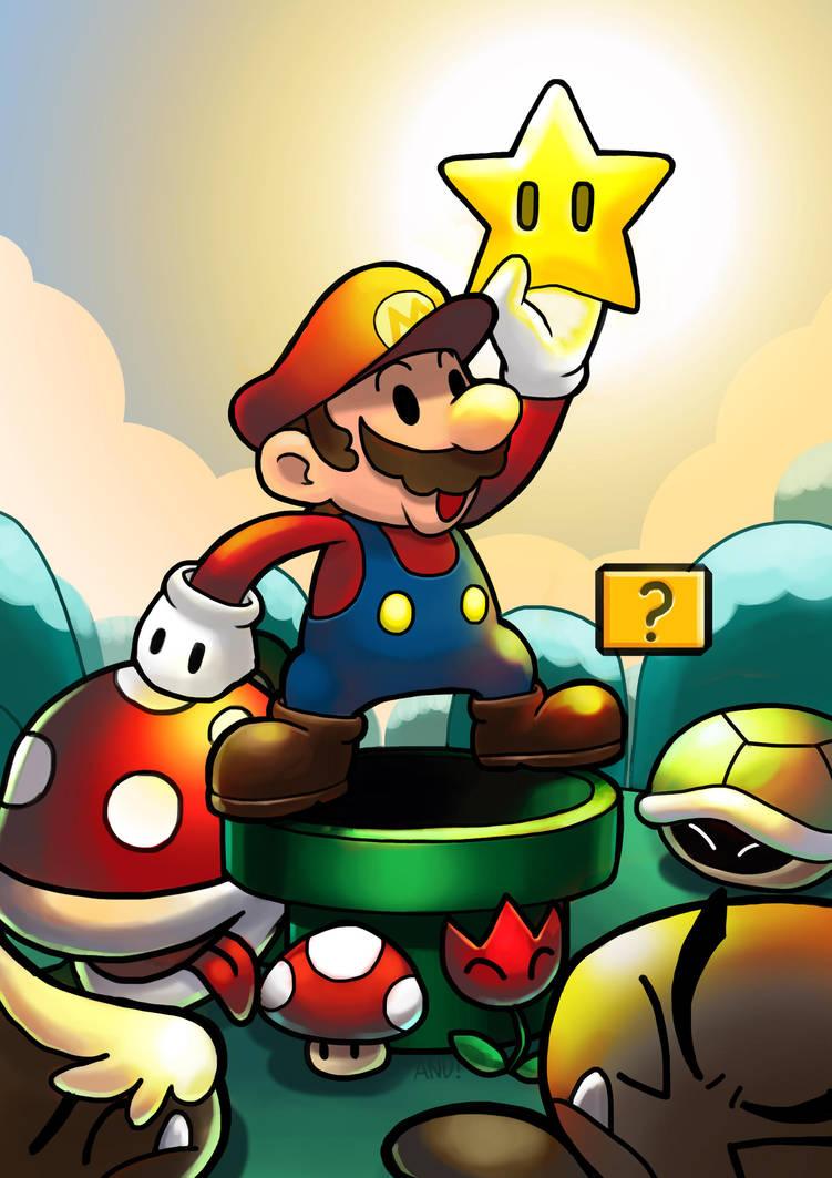 Super Mario by fenrir2512