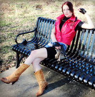 Claire Redfield RE: DC Cosplay by Hamm-Sammich