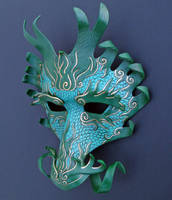 Ancient Dragon Mask by merimask