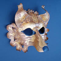 Golden Wolf 2 by merimask