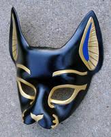 Bast...Handmade Leather Mask by merimask