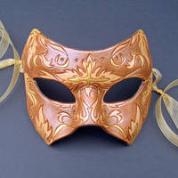 Oriental Floral Mask no. 1 by merimask