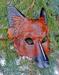 Wolf-Dog Hybrid Mask by merimask