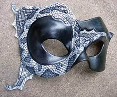 Ouroboros Mask, watersnake by merimask