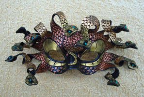 Copper Gold Medusa One...2010 by merimask