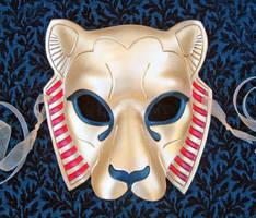 Custom Sekhmet Mask by merimask