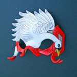Swan Mask by merimask