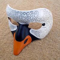 Venetian Swan Mask by merimask