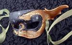 Little Bronze Dragon Mask by merimask