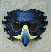 Black Eagle Leather Mask by merimask