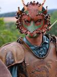 Forest Dragon being worn by merimask