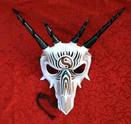 Southwestern Dragon Leather Mask by merimask