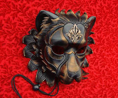 Regal Lion with Brass piece 1 by merimask