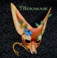 Custom Garden Fennec Mask by merimask