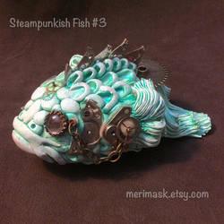 Steampunkish Fish #3 by merimask
