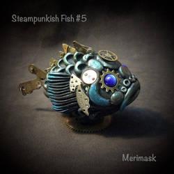 Steampunkish Fish #5 by merimask