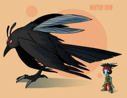 Martian Crow by Crazon