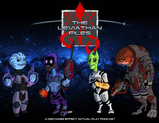 Fan Art - The Leviathan Files by Crazon