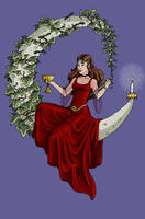 MERRY YULE by whisperelmwood