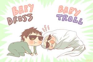baby troll baby dross by KissUk