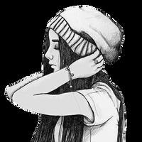 Vintage Girl Png 17 by ananurputeri