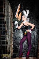 Battle Bunny Riven cosplay by magmasaya