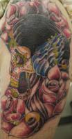 gypsie skull by fllann
