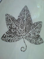 Ivy leaf in maori by exziit