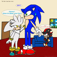 'The Talk' Sonic style Part 1 by Shindou-Chan