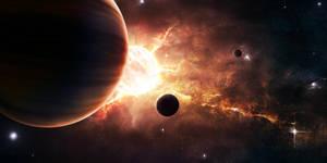 Cosmic Furnace by SupposedlyHuman
