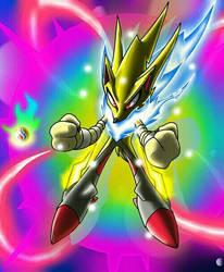 Sonic the Pokemon, Mega by Castroedgar317