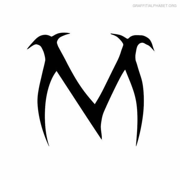 Menacing M by Castroedgar317