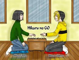 Hikaru no Go by Enide-Kant